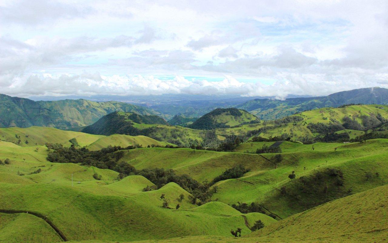Paysages du Valle Del Cauca, près de Cali
