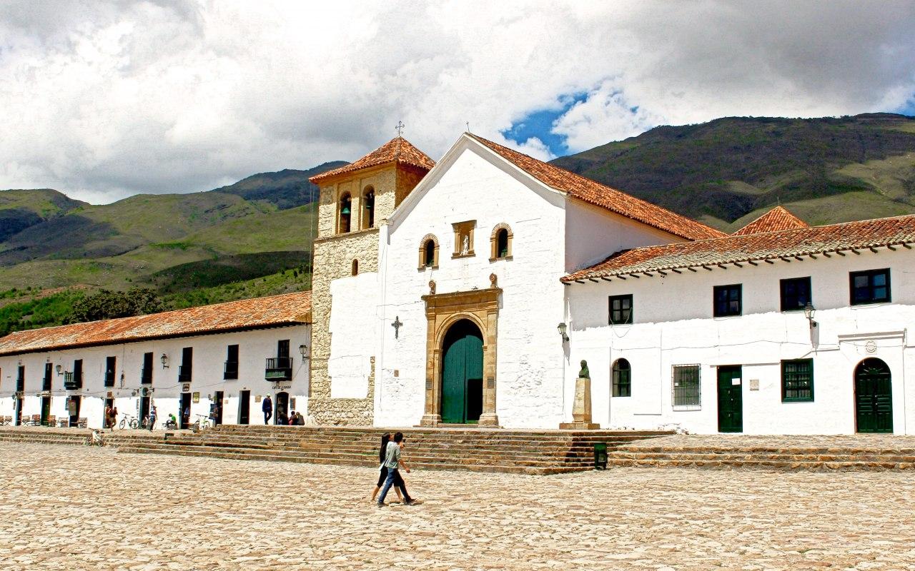 Villa de Leyva dans les Andes colombiennes