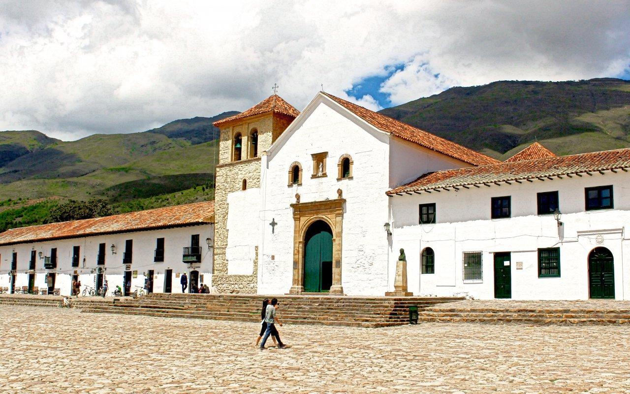 Villa de Leyva, nichée dans la Cordillère des Andes